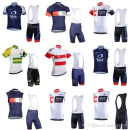 58fa74e83 cycling jersey 2018 ropa ciclismo hombre IAM PRO TEAM Short Sleeve Cycling  Jersey Bike Bicycle Wear + bib Shorts sets C0709