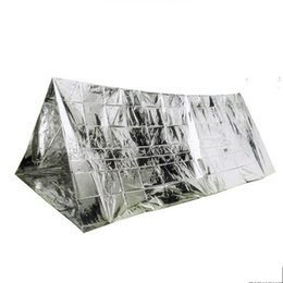 Silver inSulation online shopping - Outdoor Gear Silver Foil Tents Wind Proof Shelters Oversize Insulation Living Blanket Sleeping Emergency Anti Heat Tents gt bZ