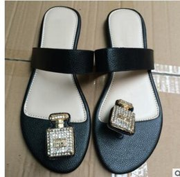20e18d6fa019 NEW AAA 2018 bestselling womens flip-flops fashion outdoor beach causal  slide sandals women leather flat slippers size 35-42