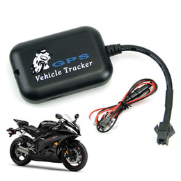 Gsm Gprs Gps Australia - Anti-Theft GPS Locator Localizer Car Kit LBS Locator Bike Car Motorcycle Vehicle Tracker GSM GPRS NNA705