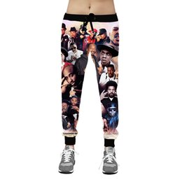 1deacb4d8fb0f0 2pac Mens Casual Joggers Pants Teenager Rapper Hiphop Fashion Boys Male  Long Trousers