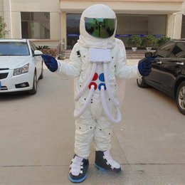 Anime White Uniforms NZ - Discount factory sale an adult astronaut mascot costume with white uniform for adult to wear