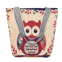 $enCountryForm.capitalKeyWord UK - Luxury Women's handbag Canvas Cartoon Handbag Shoulder Messenger Bag Ladies Satchel Tote Bags Bolsos Mujer hot sale bag women #C