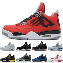 73abe3fa469a Hot 4 4s Men Basketball Shoes Toro Bravo Angry bull Military Blue Alternate  89 Green Glow Dunk From Above Premium Black Gold Sports Sneakers