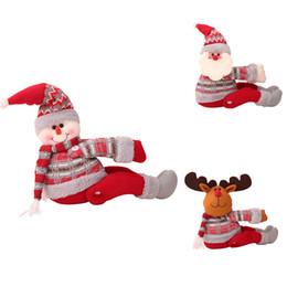 Office Curtains Blinds Online Shopping   2018 Magic Tape Curtain Tieback  Clip Window Drape Santa Snowman