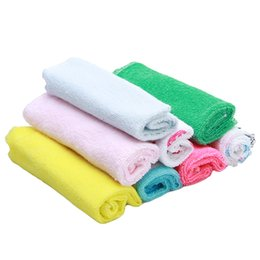 $enCountryForm.capitalKeyWord UK - 8pcs Lot Children Washcloth Baby Feeding Baby Face Towels Washers Hand Cute Cartoon Wipe Wash Cloth Cotton For Feeding Bathing