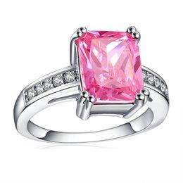 Pink Sapphire Wedding Ring Set Australia New Featured Pink