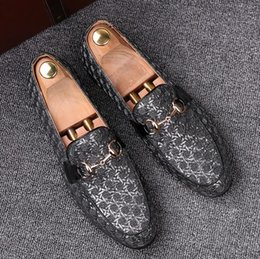 $enCountryForm.capitalKeyWord Australia - Men Flats Genuine Leather Gommino Driving Shoes Style Soft Moccasins Men Loafers Boat Shoes High Quality size:37-44