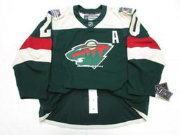 Hockey jersey suter For Sale - Cheap custom Ryan Suter MINNESOTA WILD STADIUM SERIES EDGE JERSEY stitch add any number any name Mens Hockey Jersey XS XL