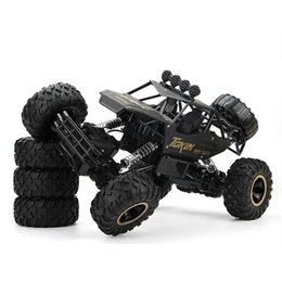 Electric Road Cars UK - Remote-controlled toy suvs car models Four-wheel drive climbing car Off-road electric toy model Children compete with big foot