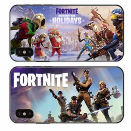 Discount apple wholesale items - Game Related Items Fortnite Cell Phone Cases Fashion Mobile Protect Cover Cellphone TPU Shell for 78X New