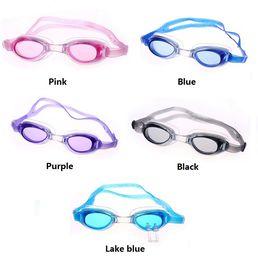 a6a14286d Óculos de venda quente Óculos de natação infantil à prova d 'água Evitar  névoa proteção Uv confortável Gel de sílica espelho de natação T4H0082