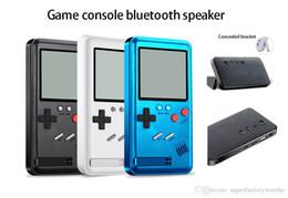 Usb Portable Games NZ - 1PCS Wireless Bluetooth Speaker Multifunction Portable Sports Game Machine Bluetooth Speaker Game Speaker