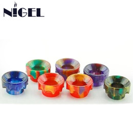 $enCountryForm.capitalKeyWord Canada - Nigel Fighting Drip tip Electronic Cigarettes 810 Resin Drip Tips Mouthpieces For Smok TFV8 Kennedy Griffins Tank Accessories