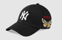 2018 designer baseballmütze ny stickerei brief sonnenhüte einstellbar snapback hip hop dance hut sommer luxus männer frauen kappen