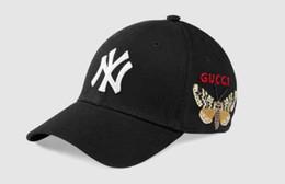 Berretto da baseball del progettista 2018 NY cappelli da sole di snapback regolabile della lettera del cappello di ballo di Hip Hop registrabile delle donne degli uomini di lusso