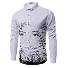 $enCountryForm.capitalKeyWord Australia - Autumn Men Dress Shirt Personality Long Sleeve Tuxedo Dress Shirts Slim Fit Streetwear All Match Prom Shirt Men Clothes 2018