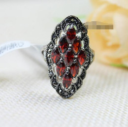 $enCountryForm.capitalKeyWord Canada - Ruby ring Korea Korean fashion hipster retro simple jewelry Europe and America crystal ring children index finger ring