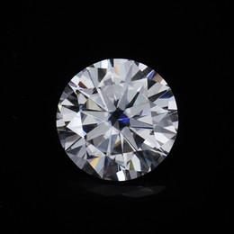 $enCountryForm.capitalKeyWord Australia - Round Brilliant Cut 1.0ct Carat 6.5mm F Color Moissanites Loose Stone VVS1 Excellent Cut Grade Test Positive Lab Diamond S923