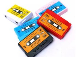 1gb mp3 player mini sd NZ - Hot Sale High quality mini Tape MP3 Player support Micro SD(TF) card 5 colors DHL Free shipping Cheapest LLFA