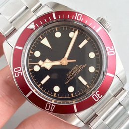 $enCountryForm.capitalKeyWord Australia - Luxury Mens Watch Stainless Steel Automatic Movement Mechanical Red Bezel Black Dial Solid Clasp Geneve Men Watches