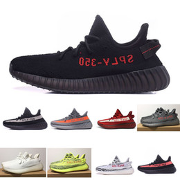 Zebra print baby online shopping - Baby Kids Shoes Kanye West SPLY V2 Zebra Running Shoes Children Athletic Shoes Beluga Sports Sneakers Black Red
