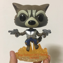 Rocket flying toy online shopping - Anime Official Funko Pop Marvel Guardians of The Galaxy Flying Rocket Vinyl Figure Collectible Toy with Original Box