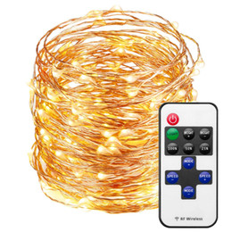 $enCountryForm.capitalKeyWord UK - LED String Lights with Remote Control, USB 33ft 100LED Waterproof Decorative Lights Dimmable, Cooper Wire Lights for Indoor and Outdoor