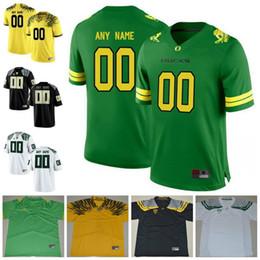 c3d04bce313f Custom Oregon Ducks College Football 8 Marcus Mariota 21 Royce Freeman  Apple Green Yellow white black Navy Stitched Any Name Number Jersey