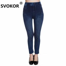 $enCountryForm.capitalKeyWord UK - 2018 new hot sale seamless super stretch jeans fishing net printing soft ladies leggings women sports pants girl