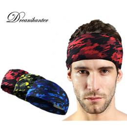 5c8fbf6758b86 Men Women Sweat Headband Elastic Yoga Anti-Slip Hair Band For Running  Fitness Hairband Sweatband Head