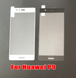Huawei Mate Screen Film Canada - For Huawei P9 P9PLUS Mate 10 PRO Mate10 Lite Mate 9 PRO Full Cover Tempered Glass Phone Screen Protector Film DHL Free shipping