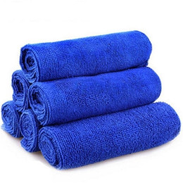 Chinese  Auto Car Window Wash Tools Towel Multi Function Blue Washcloth Bamboo Fiber Super Strong Water Absorption Cleaning Cloths 0 62hx ff manufacturers
