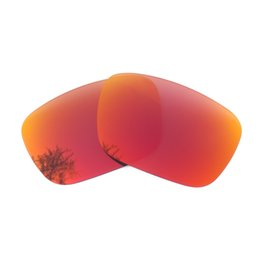 ce877e79d4c3 Orange Red Mirrored Polarized Replacement Lenses for Jury Sunglasses Anti  Saltwater Anti dust