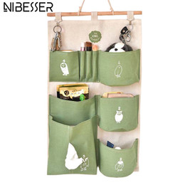 $enCountryForm.capitalKeyWord Australia - NIBESSER Cute Owl Cosmetic Bag Hanging Storage Waterproof Organizer Bag Packing Cubes for Toiletry Brushes Cartoon Travel Pouch