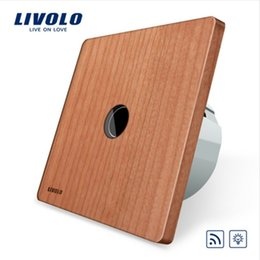 LivoLo switch dimmer online shopping - Livolo EU Standard AC V Remote Dimmer Function Wall Light Switch No Remote Wood log Panel VL C701DR Healty Life