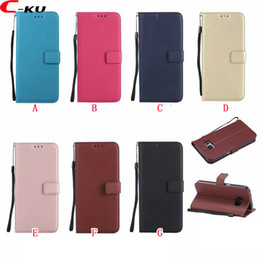 Sheep Skin Wallets NZ - For Iphone X XS MAX XR 8 7 Plus 6 6S I6 Huawei MATE 20 PRO LITE NOVA 3I Strap Sheep Flip Wallet Leather Case Stand ID Card Skin Cover 50PCS