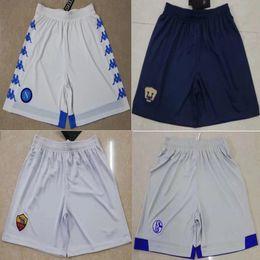 badfc1130 Pantalones cortos de fútbol 2018 2019 Cougar Napoli de primera calidad 18 19  Lecho del río JONAS Marseille Schalke Rome AJAX PELIGRO Pantalones cortos de  ...