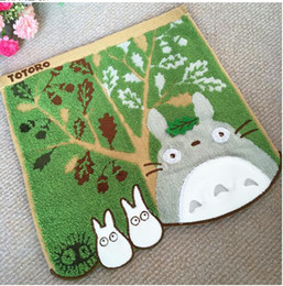 Compressed Sheets NZ - 5 pieces Hot sale Cotton Luxury My Neighbour Totoro Face Hand Towel Sheet Gift only left