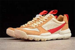 $enCountryForm.capitalKeyWord NZ - 2018 Authentic Tom Sachs Craft Mars Yard 2.0 Space Camp Running Shoes For Men AA2261-100 Natural Sport Red Maple Outdoor Shoes With Box