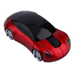 Chinese  Hot Wireless Car Shape 3D Optical Mouse Mice Game For PC Laptop Computer manufacturers