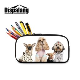 $enCountryForm.capitalKeyWord UK - Dispalang Animal Prints Cosmetic Bag Children School Stationery Pencil Bag For Office Supplies Kids Student Pencil Pouch Pen