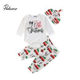 first christmas outfit baby boy 2018 my first birthday christmas letter print romperlong