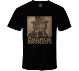 charles shirts NZ - Charles Bronson Muthaf---n Movie Star Action Men T-Shirt Lowest Price 100 % Cotton