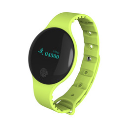 Smart Watch Iphone Android Australia - Ultra Thin Fitness Tracker Smart Bracelet WristBand Heart rate Blood Pressure Sport Watch Outdoor Runnin Walk for iPhone Android