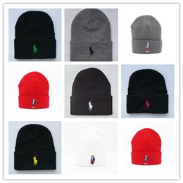 Chinese  Newest golf beanie Knitted Winter brand Hat Knitted Hat Girls Ski Hard Cap Female Warm Skullies Hats For Women Men manufacturers