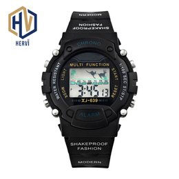 Men Digital Wrist Watches Australia - 2018 Top Brand Dropshipping Electronic Automatic Men Watch Sport luxury Wrist Watch Male Fashion Digital Watches Reloj H639-B
