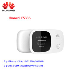 3g routers Australia - Unlocked Huawei router E5336 3g mifi wifi Router Mobile Hotspot pocket mini 3g router wifi with sim card slot