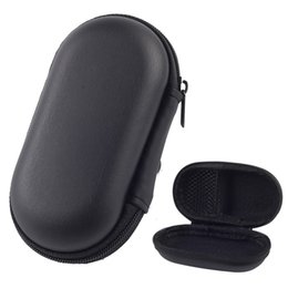 Chinese  Zipper Bag Earphone Cable Mini Box SD Card Portable Coin Purse Headphone Bag Carrying Pouch Pocket Case Cover Storage Bags Boxes manufacturers
