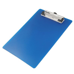 $enCountryForm.capitalKeyWord UK - SCLL Hot Practial Office Lab A5 Paper Holding File Clamp Clip Board Writting Report Pad Blue Office School Stationary